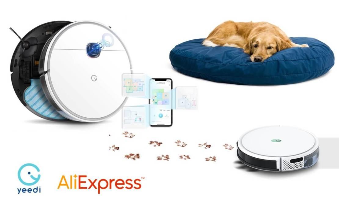 Promocja robotów yeedi na AliExpress (marzec 2021)