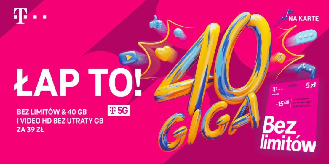 Sieć 5G dostępna dla użytkowników T-Mobile na kartę