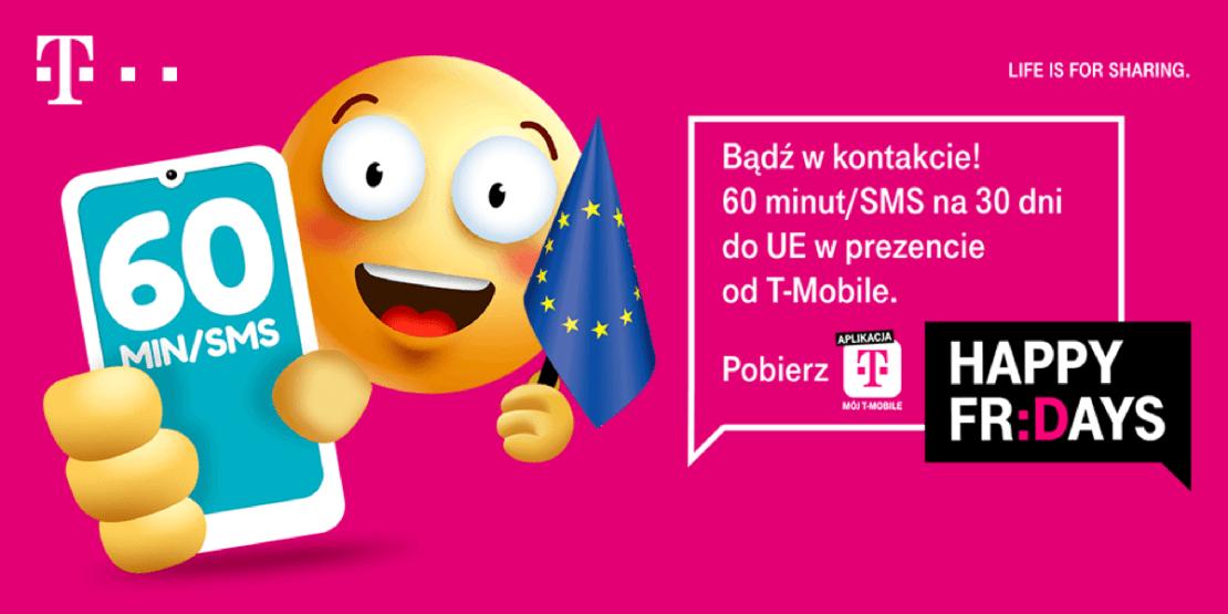 Prezent 60 minut do UE na święta od T-Mobile
