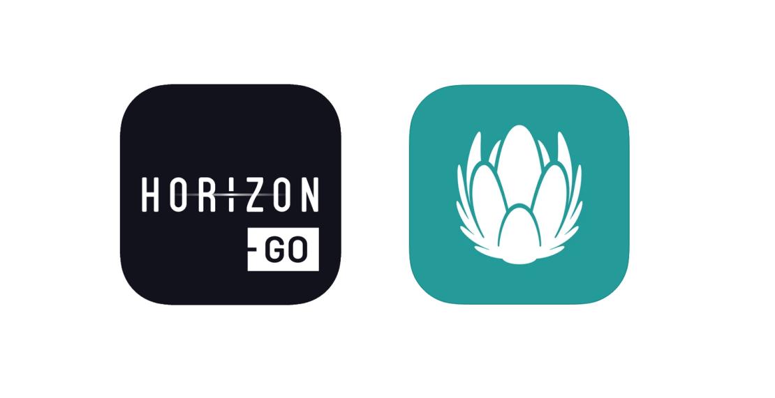 Ikona aplikacji Horizon Go i UPC TV Go