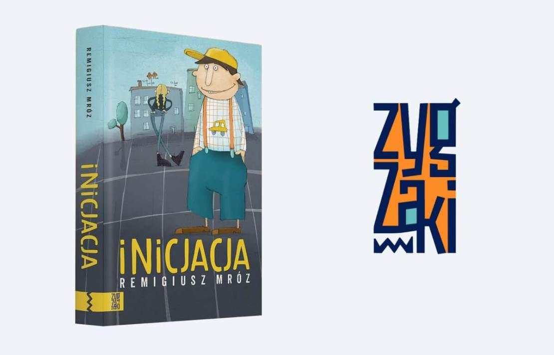 """Okładka książki """"Inicjacja"""" Remigiusza Mroza (wyd. Zygzaki, 2021)"""