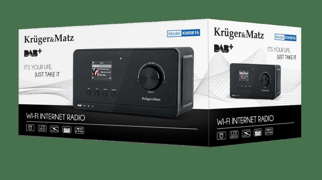 Opakowanie radia Kruger&Matz KM 816