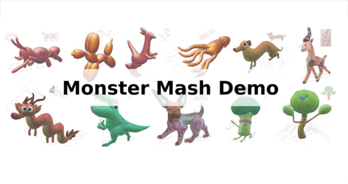 Monster Mash Demo - animacja 3D