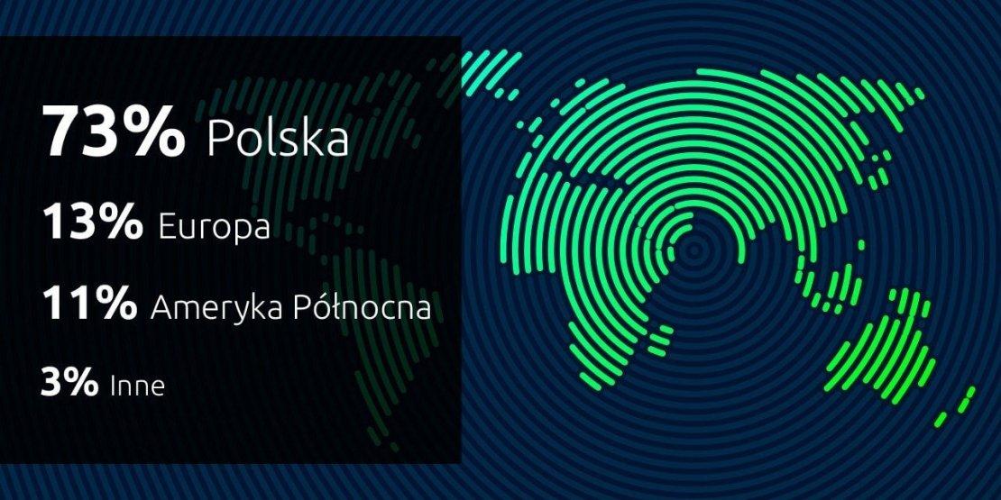 Skąd pochodzą użytkownicy polskich stron WWW?