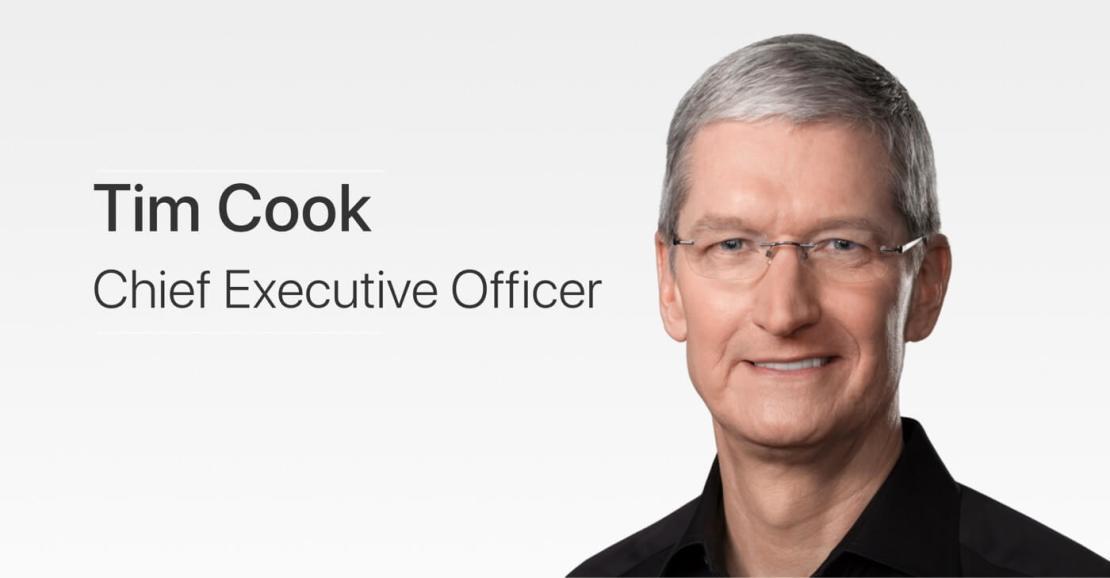 Tim Cook - Apple CEO