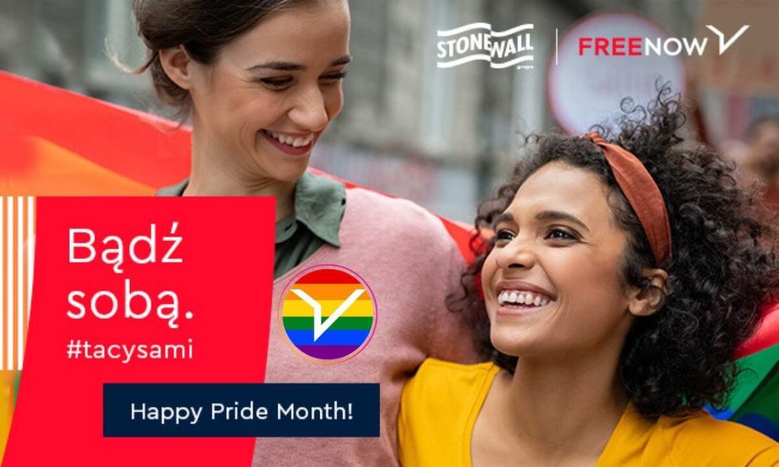 FreeNow: Bądź sobą Pride Month 2021