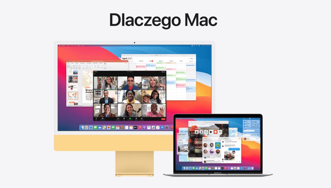 """""""Dlaczego Mac"""" - nowa podstrona firmy Apple"""