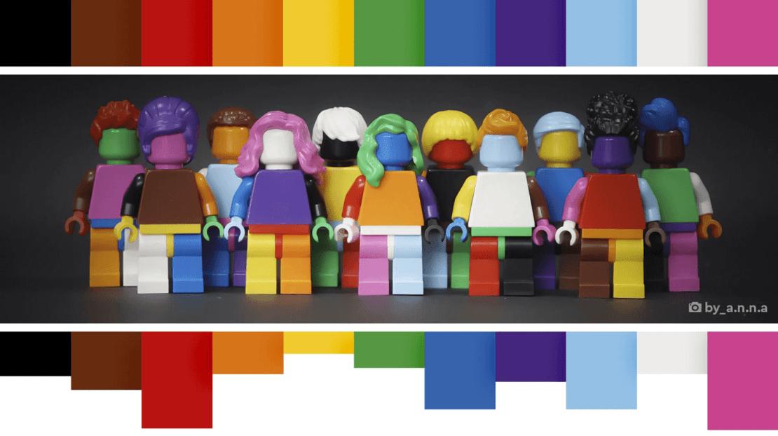 Zestaw LEGO Każdy jest wspaniały (40516)