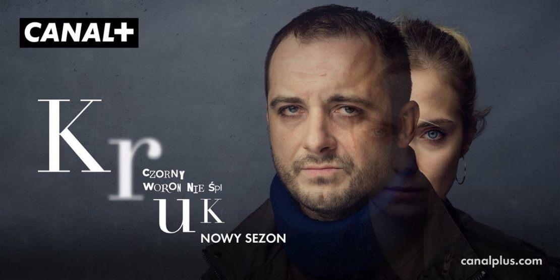 Plakat Kruk. Czorny Woron nie śpi  (2. sezon, 2021, Canal+)