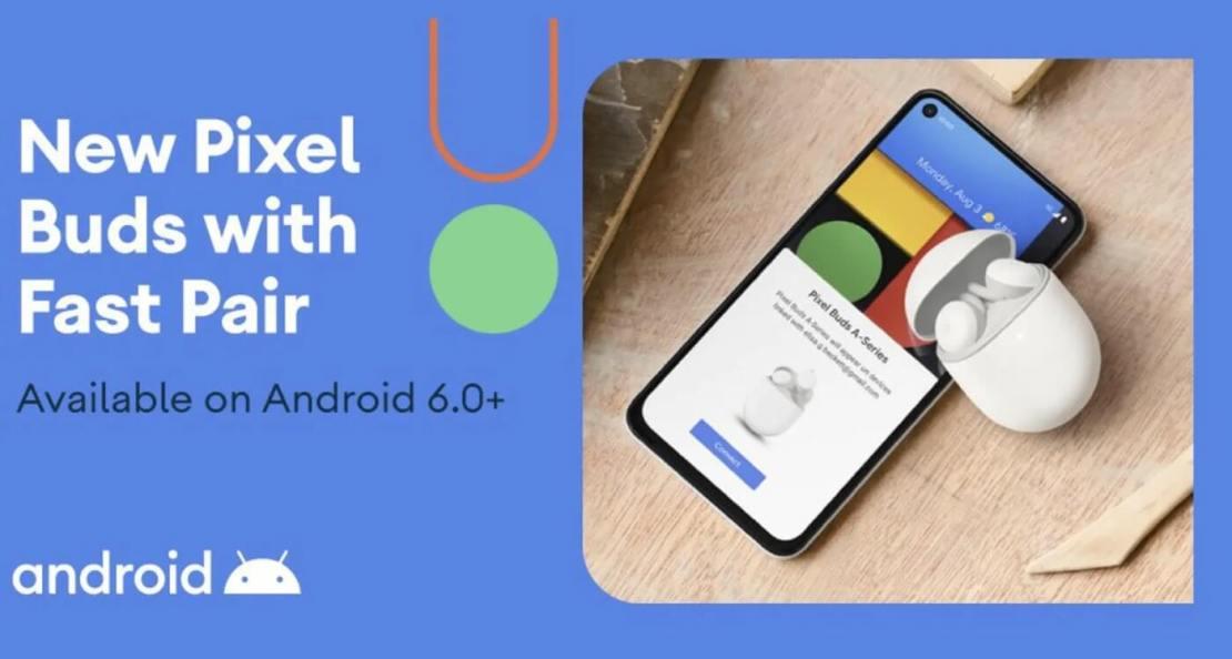 Pixel Buds Series-A - obrazek z Twittera @Android