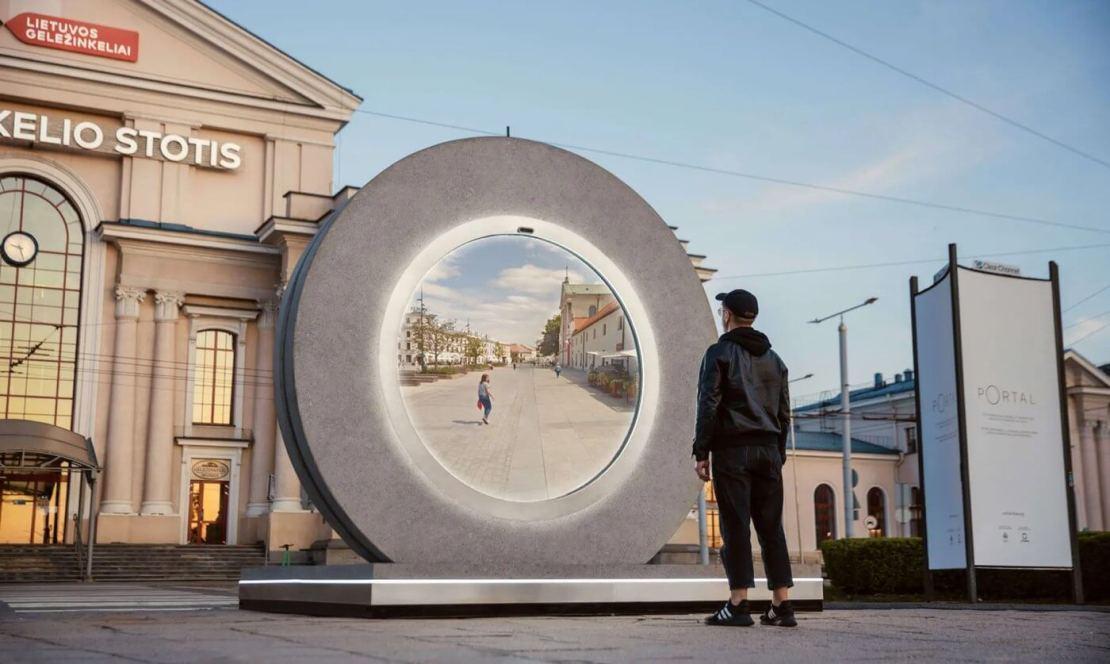 Portal między Wilnem a Lublinem