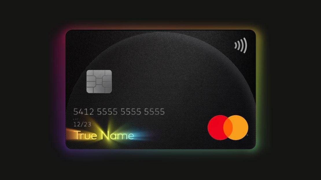 Karta Mastercard z funkcją True Name dla osób LGBTQIA+