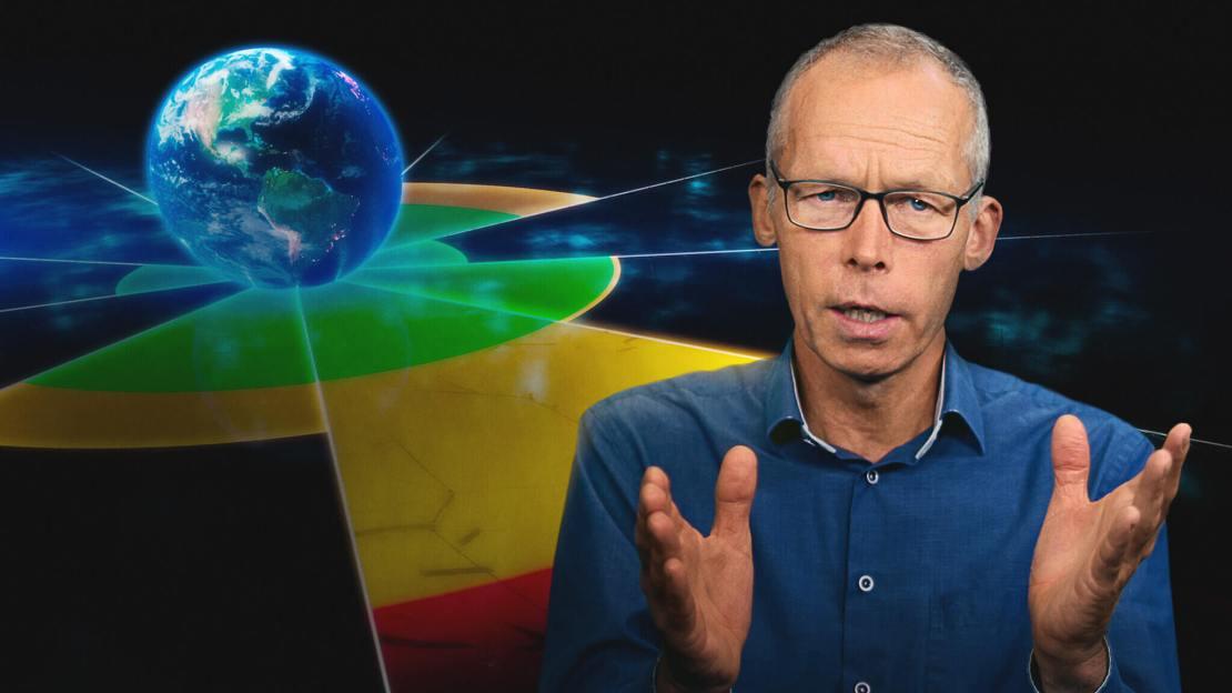 """Johan Rockström (kadr z filmu """"Świat na granicy"""")"""