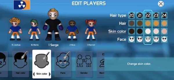 Zrzut ekranu z gry Charrua Soccer