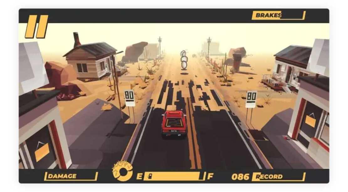 Zrzut ekranu z gry #DRIVE