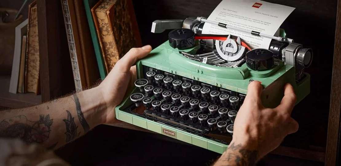 Maszyna do pisania LEGO Ideas (#21327)