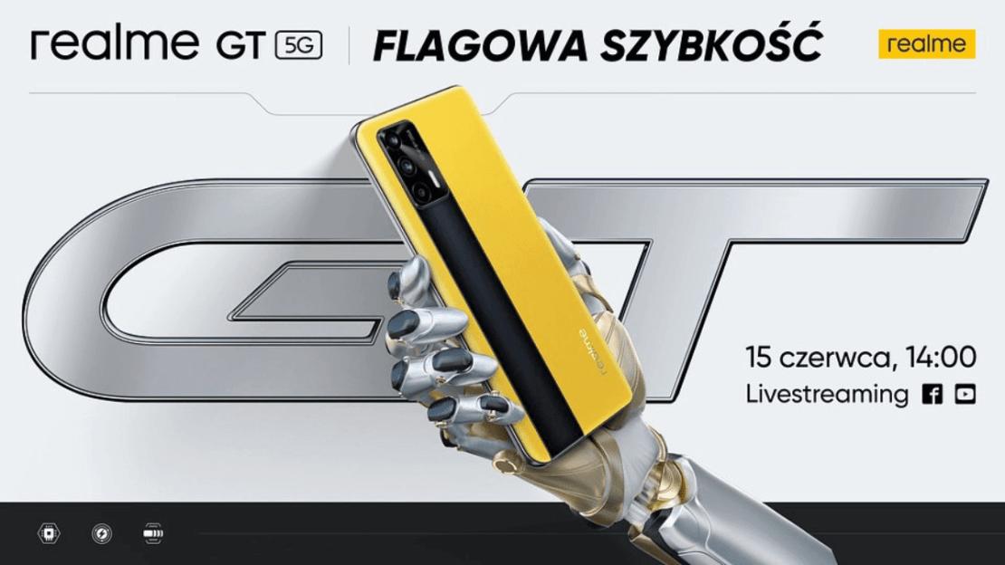 realme GT zadebiutuje w Polsce 15 czerwca 2021 r.