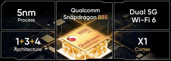 Snapdragon Qualcomm 888 realme GT