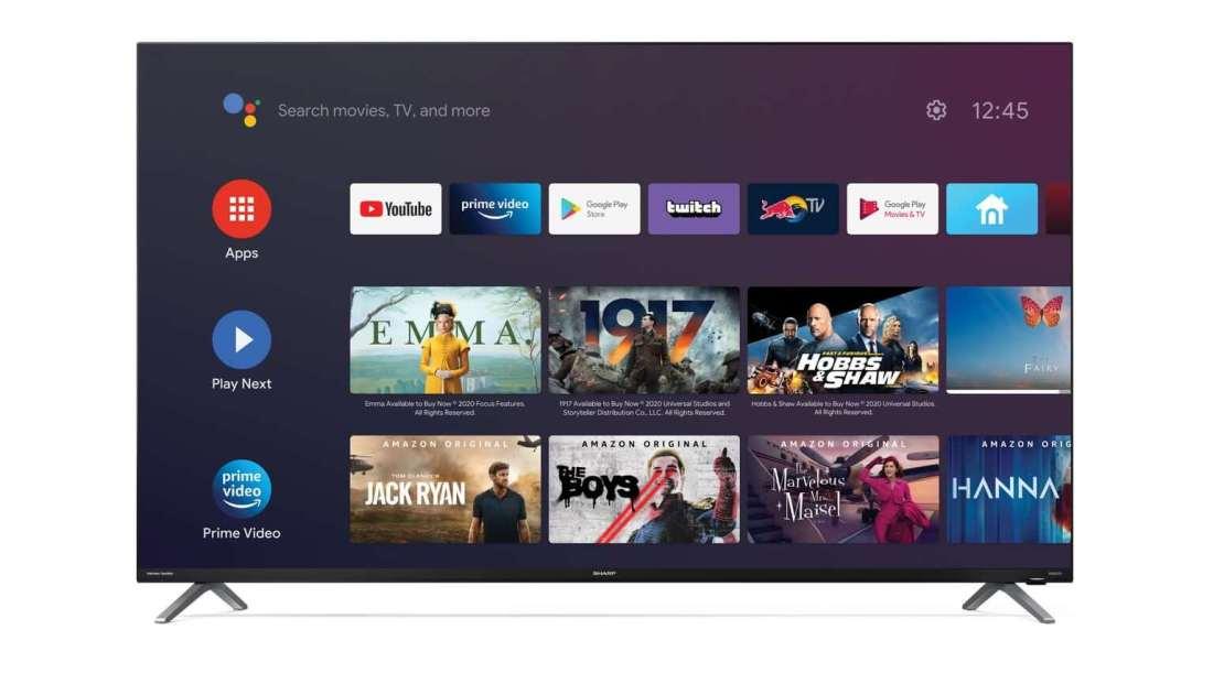 Bezramkowy telewizor Sharp DL/DN (z Android TV)