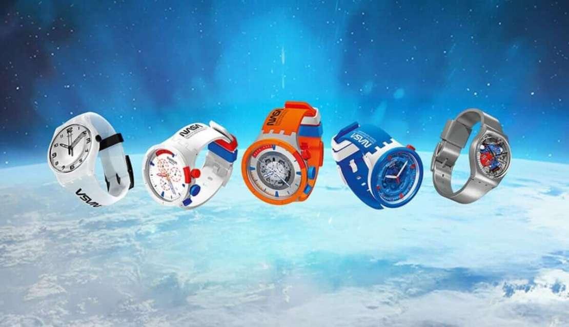 Zegarki Swatch Space Collection (NASA, 2021)