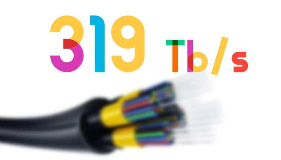 319 Tb/s - nowy rekord prędkości internetu światłowodowego (lipiec 2021 r.)
