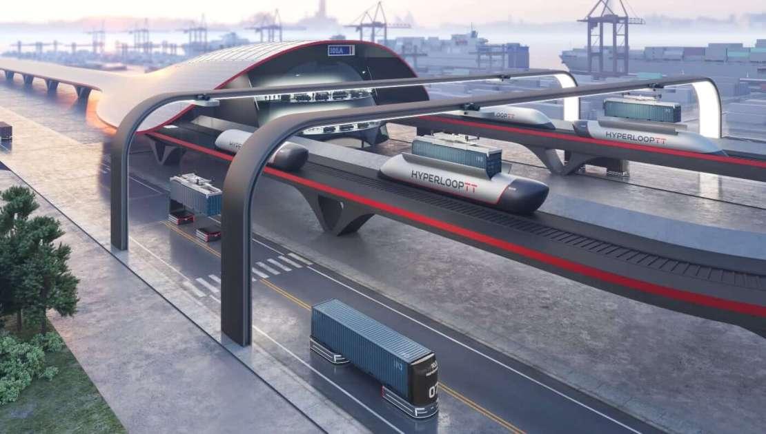 HyperloopTT i HHLA ujawniają HyperPort™