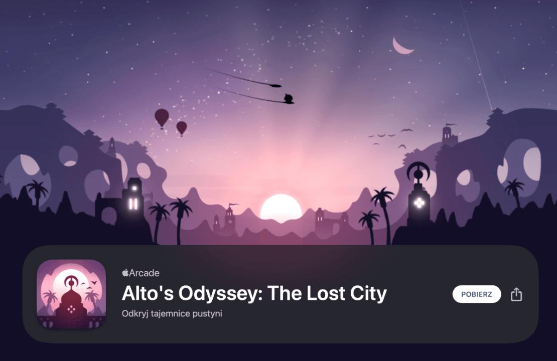 Alto's Odyssey: The Lost City - zrzut ze sklepu App Store