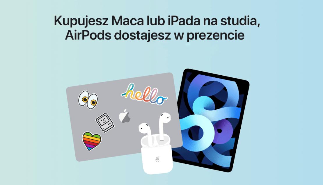 Promocja Witaj szkoło (Back to school firmy Apple (2021)