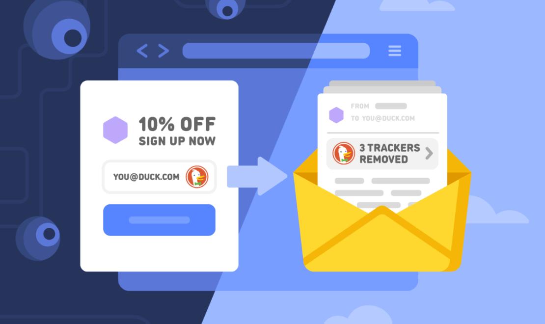Ochrona e-maili przez DuckDuckGo