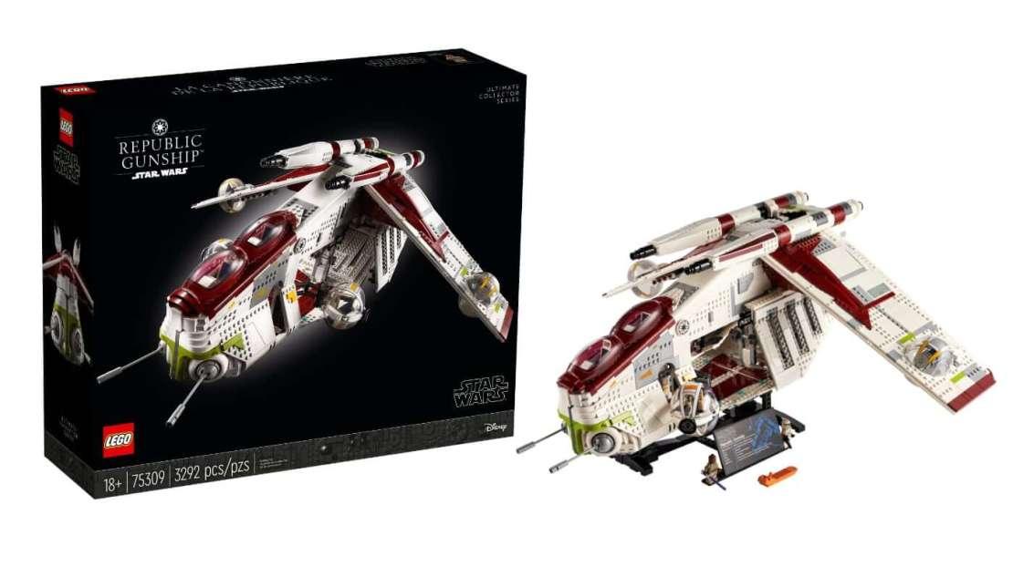 Zestaw LEGO Kanonierka Republiki nr 75309 (Star Wars)