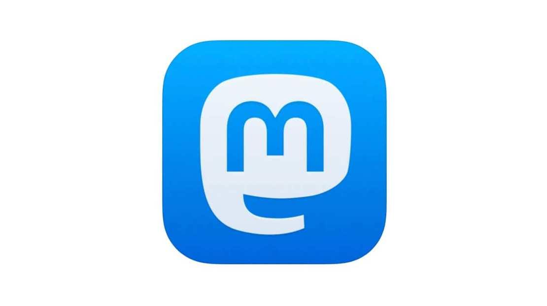 Ikona aplikacji Mastodon na urządzenia z systemem iOS