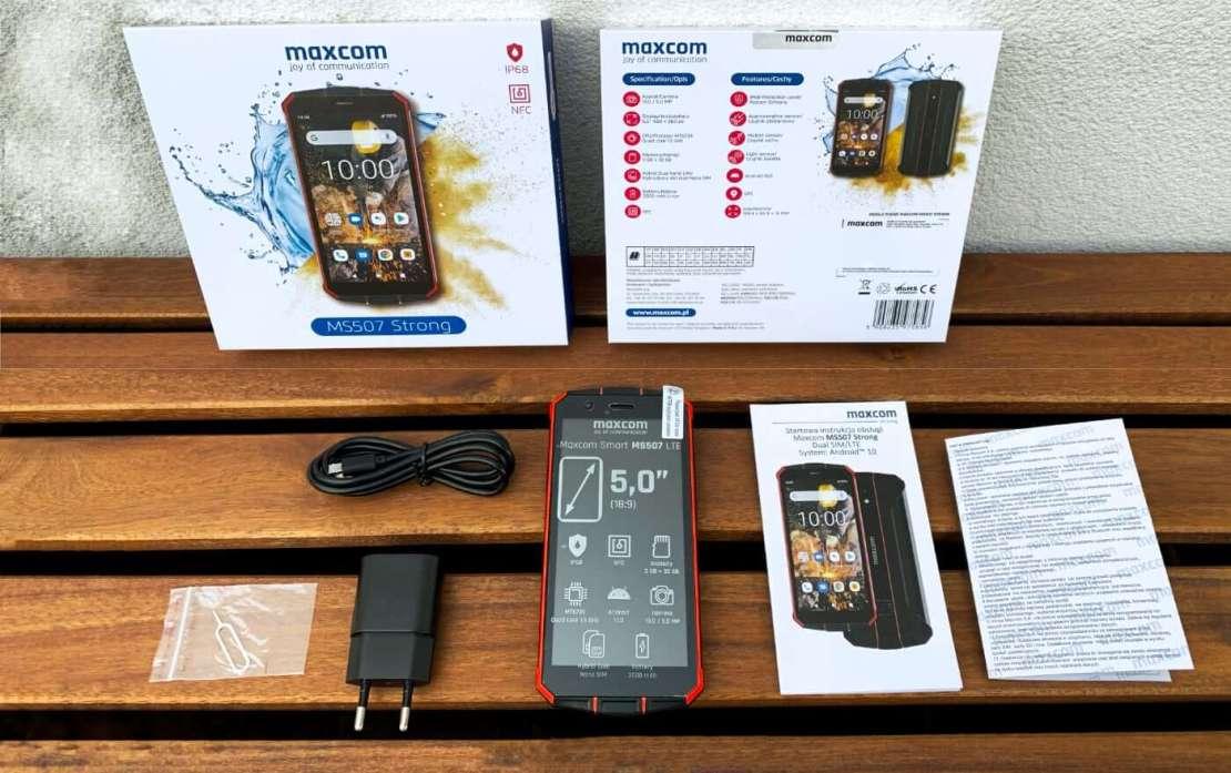 Smartfon Maxcom MS507 Smart&Strong