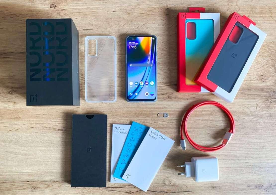 OnePlus Nord 2 5G - co w pudełku?