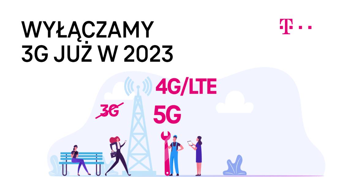 T-Mobile wyłącza 3G w 2023 roku