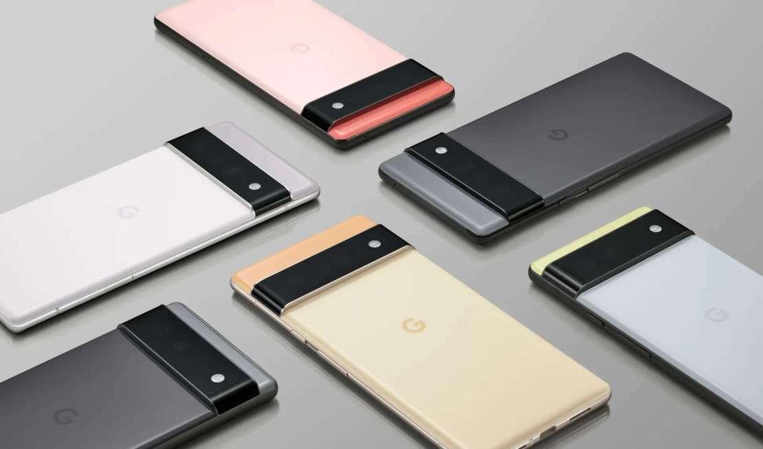 Oficjalne zdjęcia Google Pixel 6