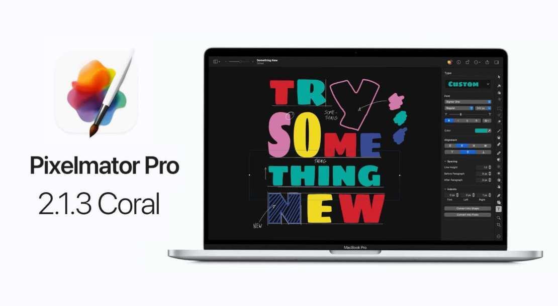 Pixelmator Pro 2.1.3 Coral
