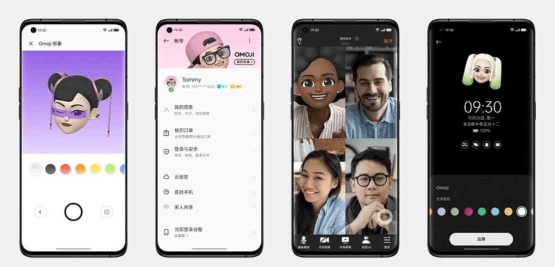 Omoji - czyli trójwymiarowe Emoji pod ColorOS 12
