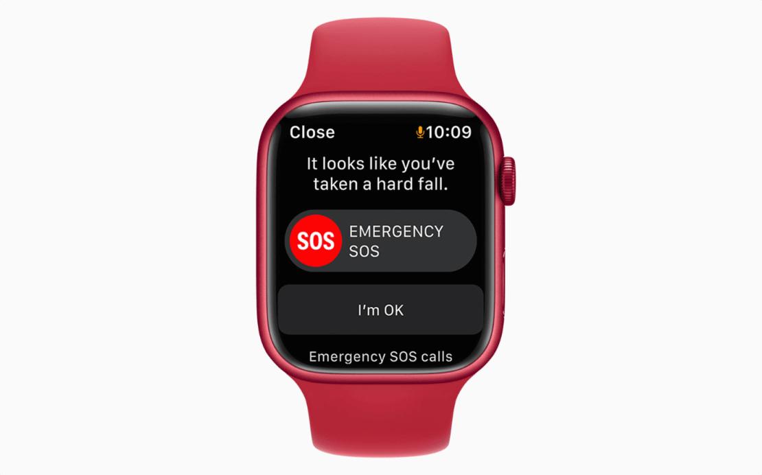 Wykrywanie upadku przez Apple Watcha