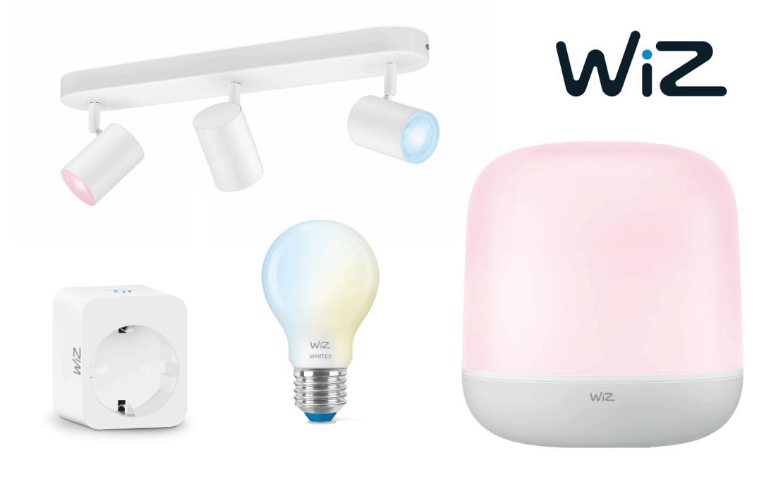 WiZ - nowe produkty - inteligentne oświetlenie