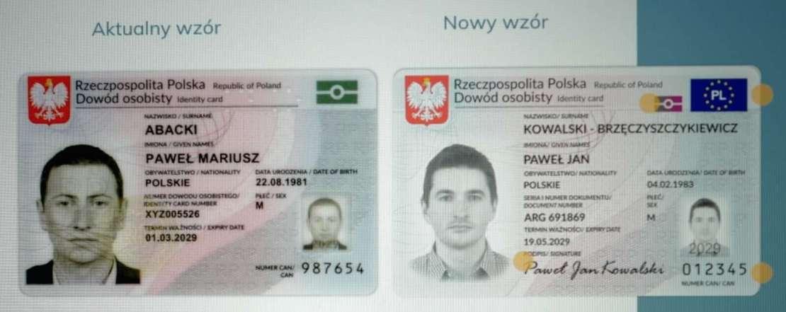 Różnice między dotychczasowym a nowym dowodem osobistym w Polsce (2021)