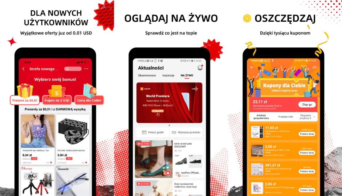 Polska wersja aplikacji AliExpress