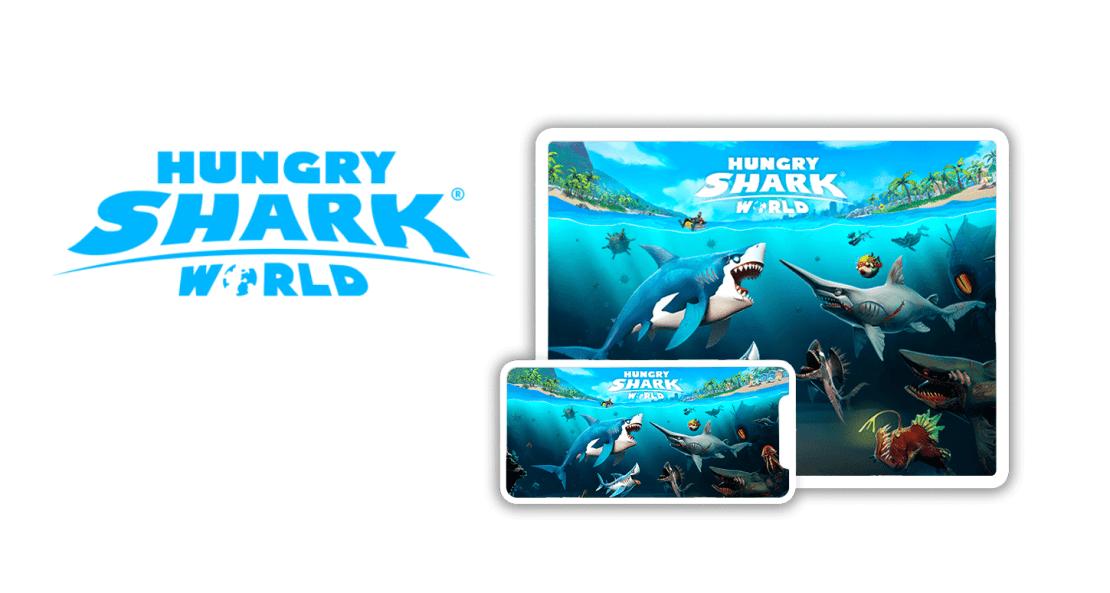 Gra mobilna Hungry Shark World