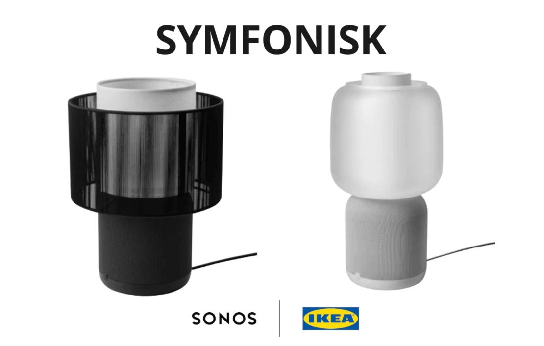 Lampa z głośnikiem Wi-Fi SYMFONISK 2. generacji od IKEA i SONOS