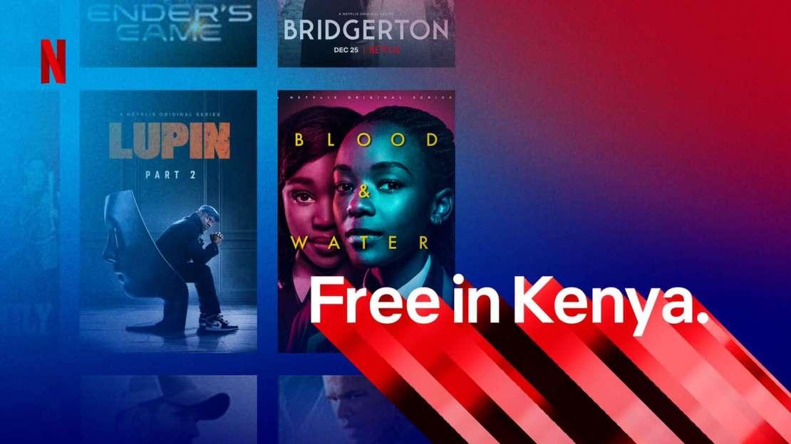 Darmowy plan Netflixa w Kenii dla użytkowników smartfonów z Androidem