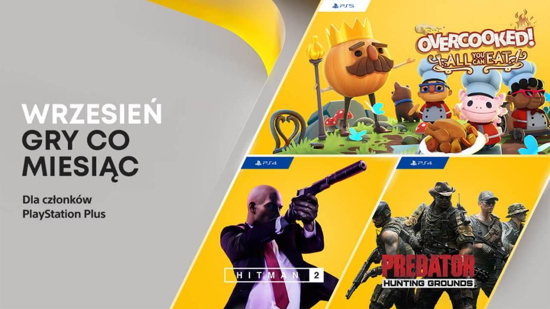 Darmowe gry w PS Plus we wrześniu 2021 roku