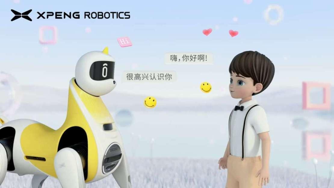 XPeng Robotic Unicorn - robot jednorożec - koncept