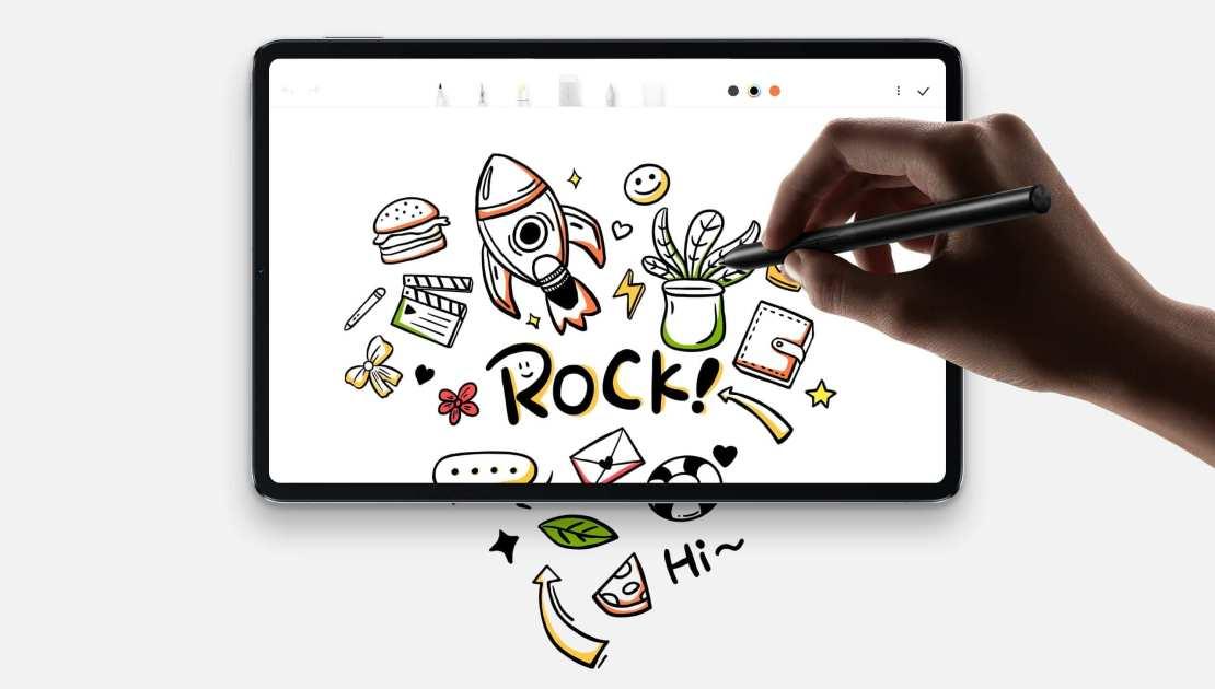 Praca i rozrywka na tablecie Xiaomi Pad 5