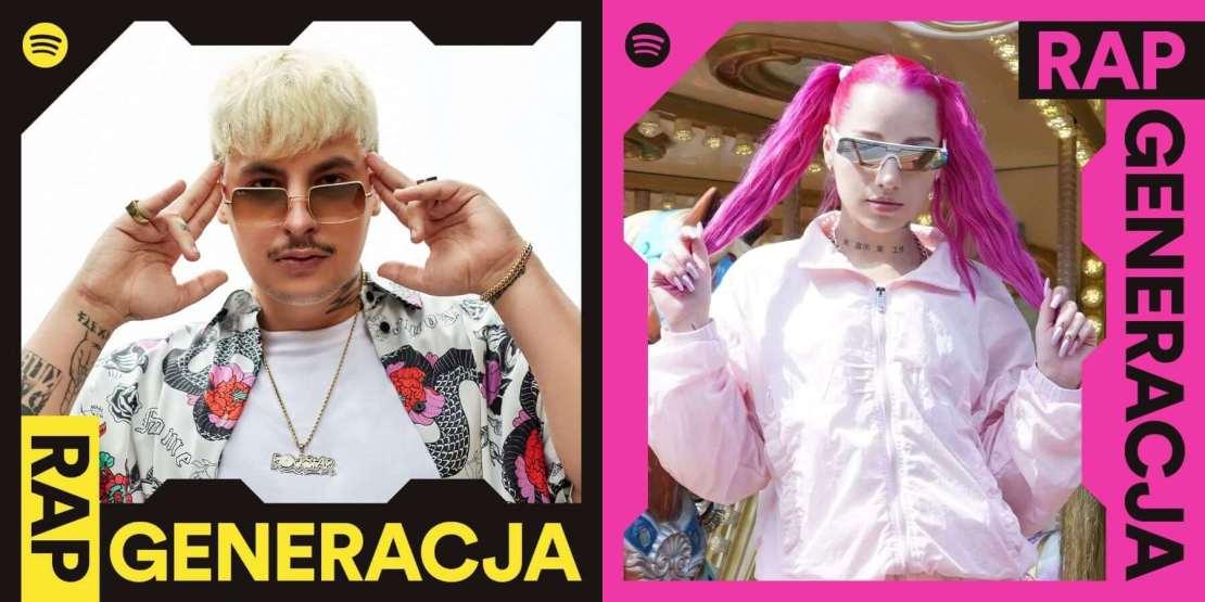 Spotify – RAP GENERACJA