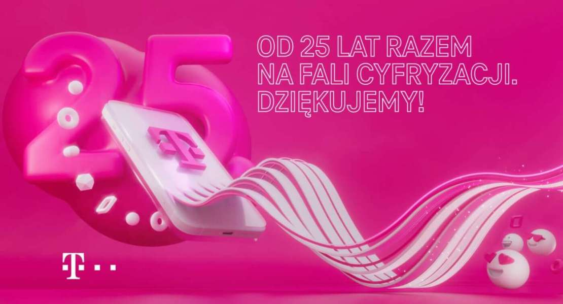 T-Mobile - 25 lat razem na fali cyfryzacji – konkurs w RMF FM
