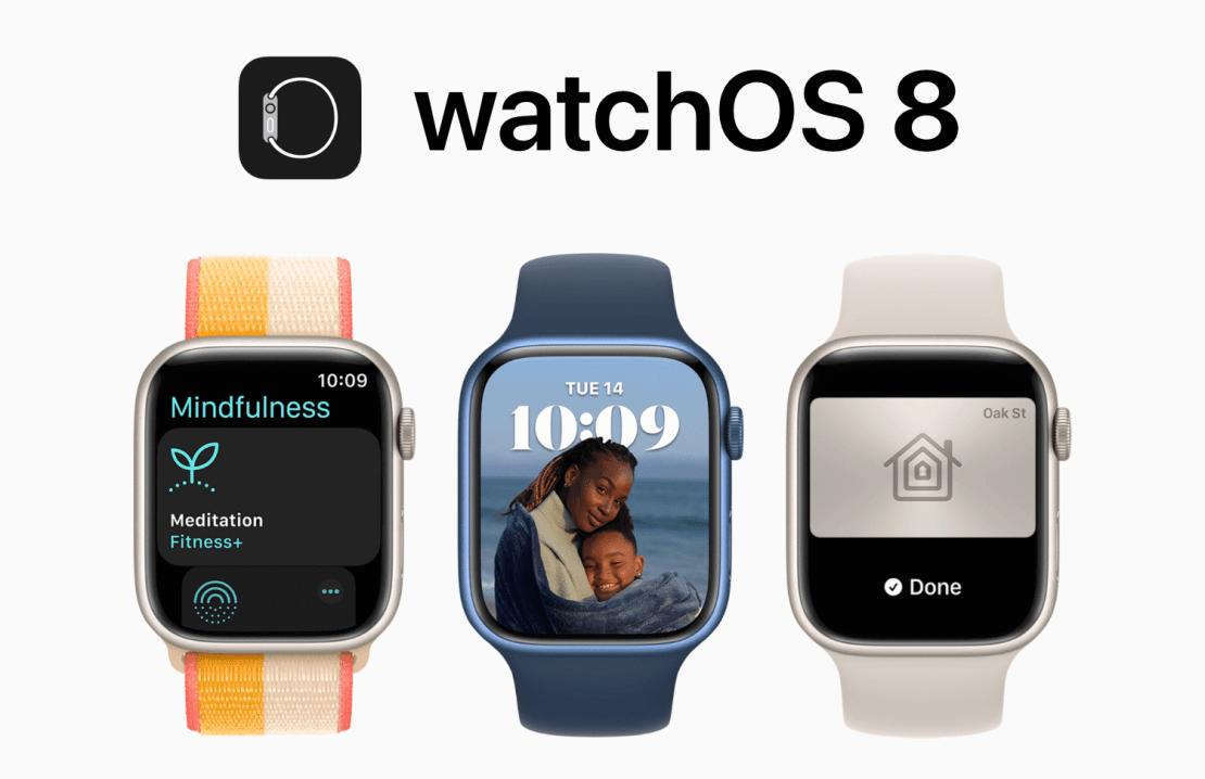 Uaktualnienie watchOS 8